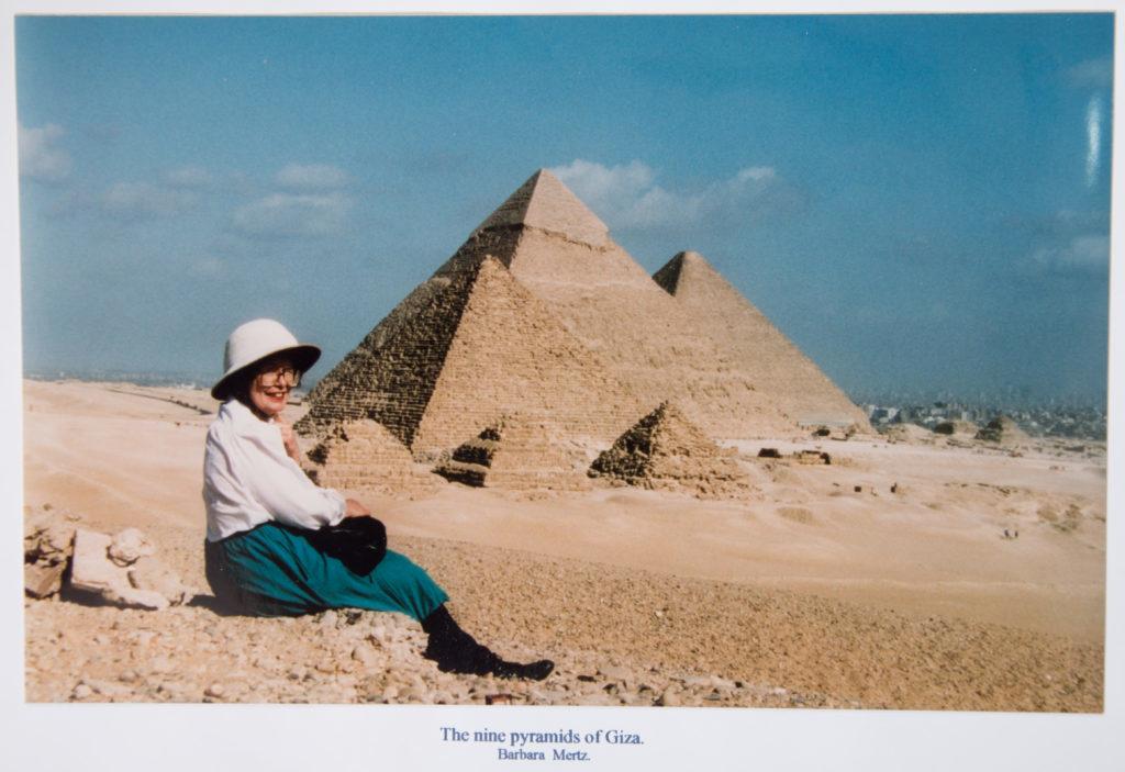 Elizabeth Peters at Giza