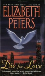The cover of Die for Love centers a dove in front of a city skyline, with a heart lit in the red lights of one skyscraper's windows.