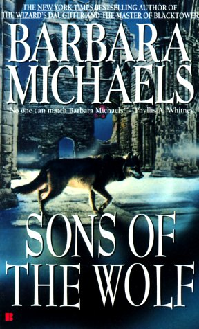 Cover: Sons of the Wolf shows a wolf walking through castle ruins on a snowy night
